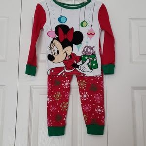 Minnie Mouse Christmas Pajamas
